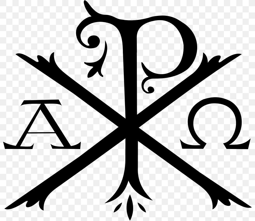 Christogram Png - Chi Rho Alpha And Omega Christianity Christogram, PNG, 800x712px ...