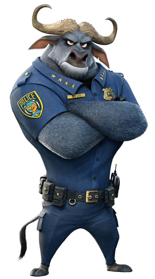 Chief Bogo Png - Chief Bogo | Zootopia: The Animated Series Wikia | FANDOM powered ...