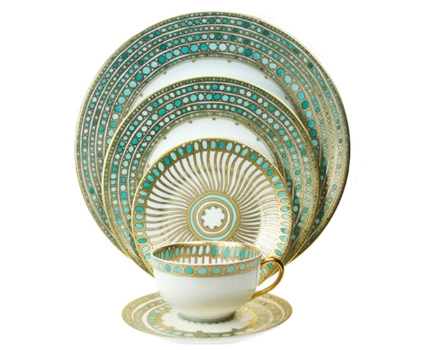 China Dishes Patterns Png - China Dishes | turquoise gold white china dinnerware | theLENNOXX ...