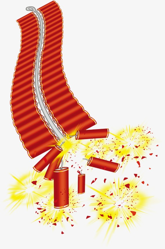 Chinese New Year Fireworks Png - Chinese New Year Fireworks Clipart