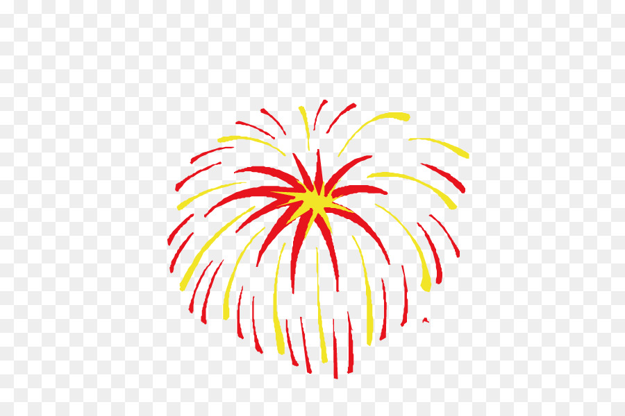 Chinese New Year Fireworks Png - Chinese New Year Flower Background