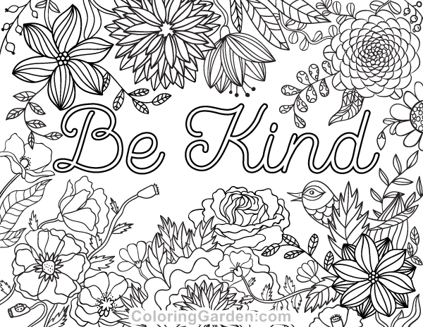 Kindness Coloring Pages Png & Free Kindness Coloring Pages.png Transparent  Images #106275 - PNGio