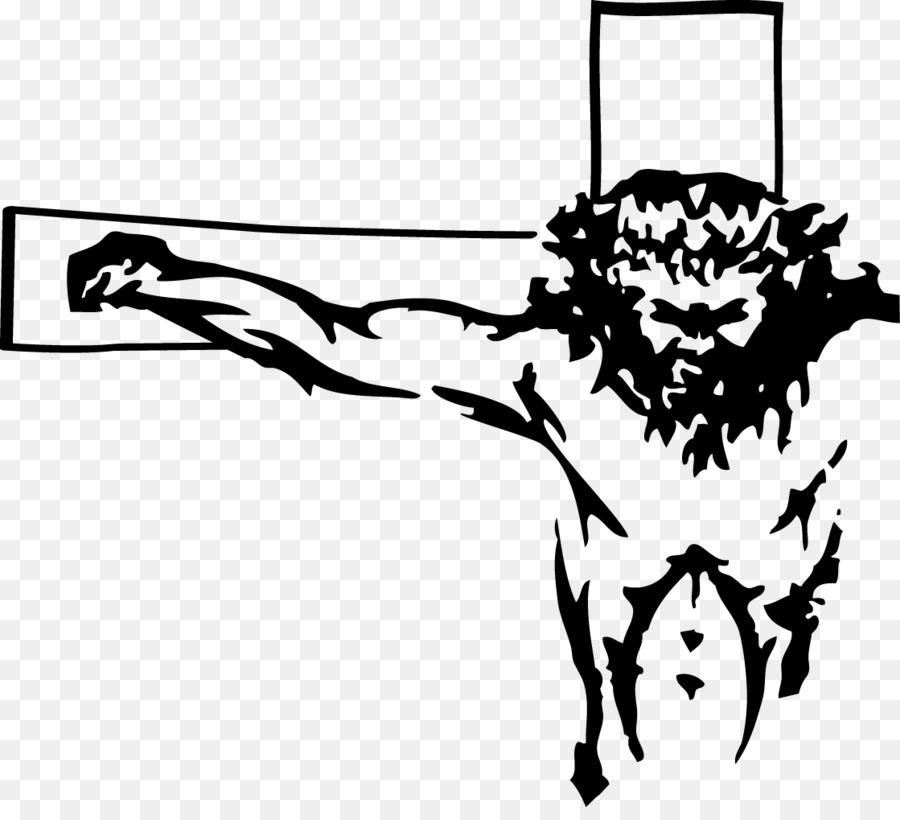 Black And White Png Of Jesus Christ  U0026 Free Black And White