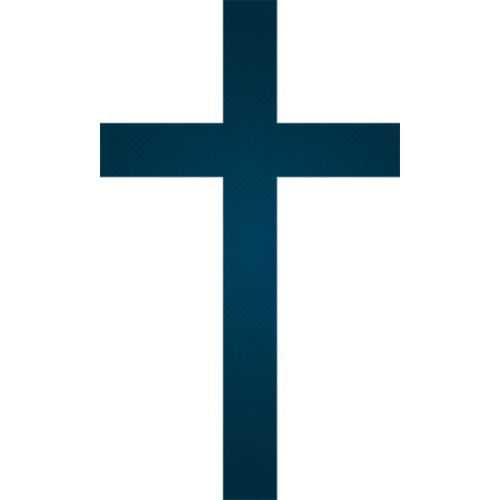 The Cross Of Christ Png - Christian Cross PNG Navy Color