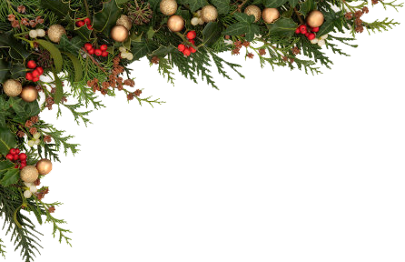 Png For Christmas - Christmas border 1 opusglow concept spa png - Clipartix