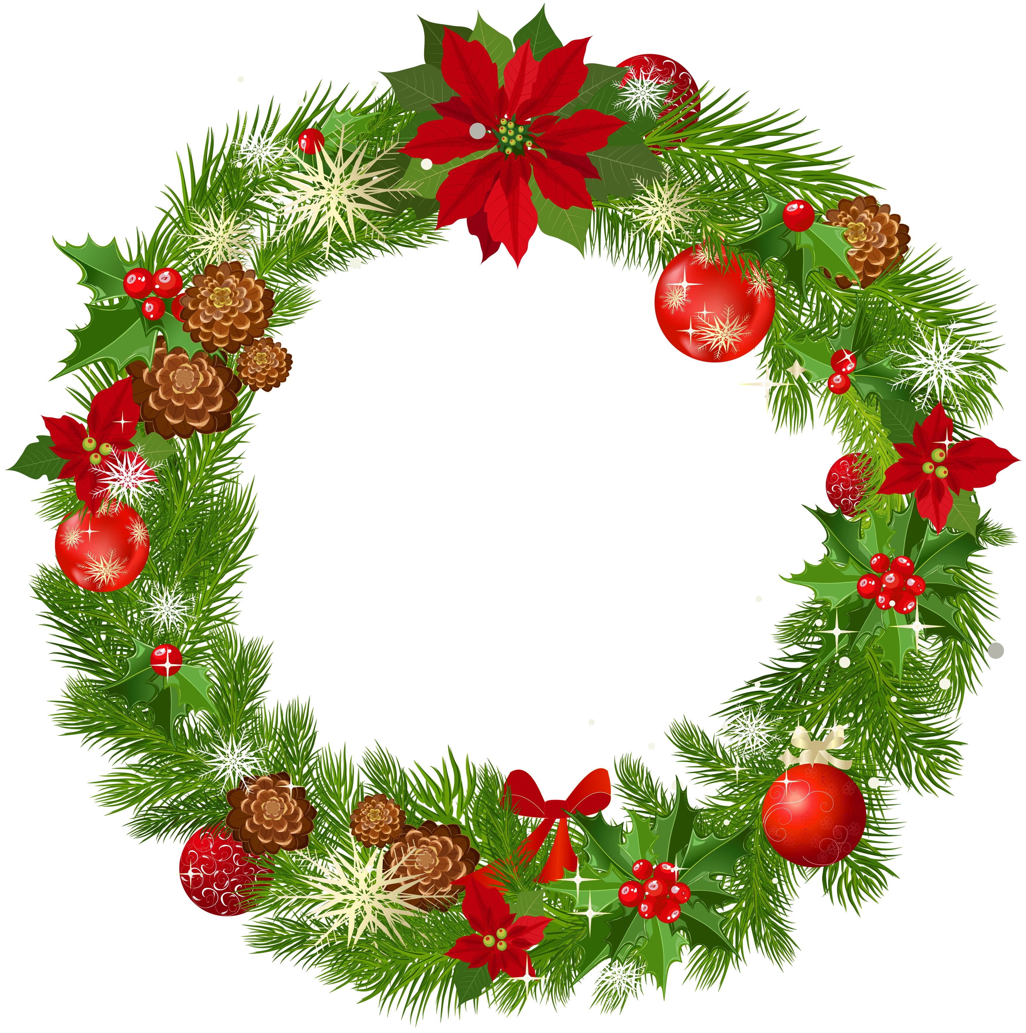 Christmas Garland Png - Christmas Garland Clipart   Free download best Christmas Garland ...