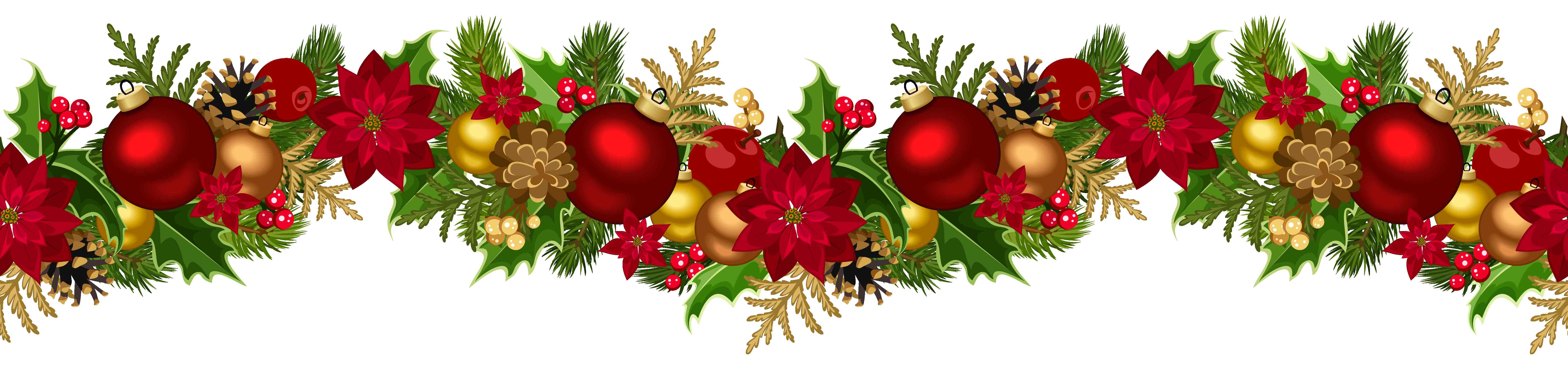 Christmas Garland Png 98 Images In Col 485046 Png