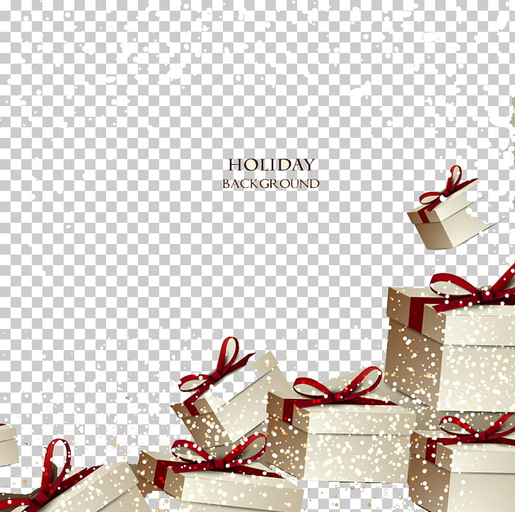 Holiday Gift Card Png - Christmas gift Gift card Voucher, Holiday gift box background ...