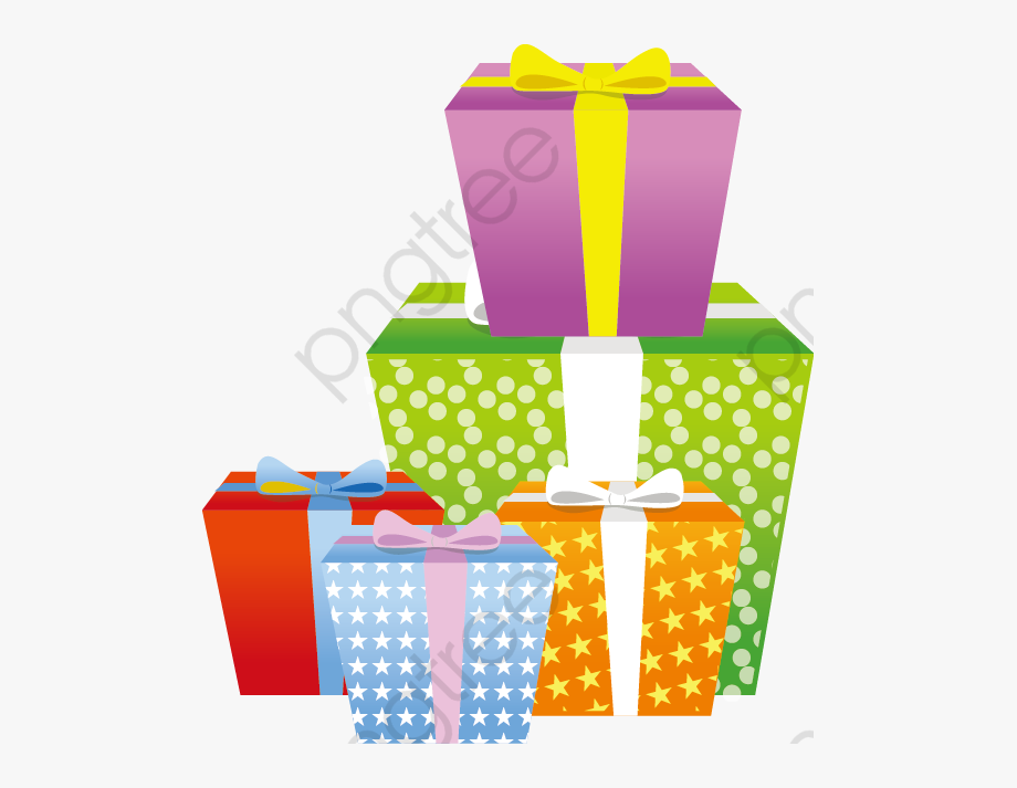 Christmas Present Clipart Vector Gifts 1309827 Png Images Pngio