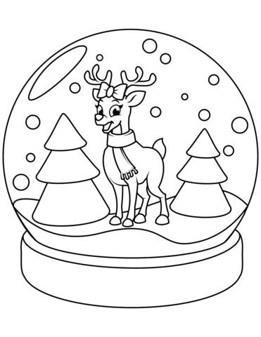 Png Reindeer Coloring Pages & Free Reindeer Coloring Pages ...
