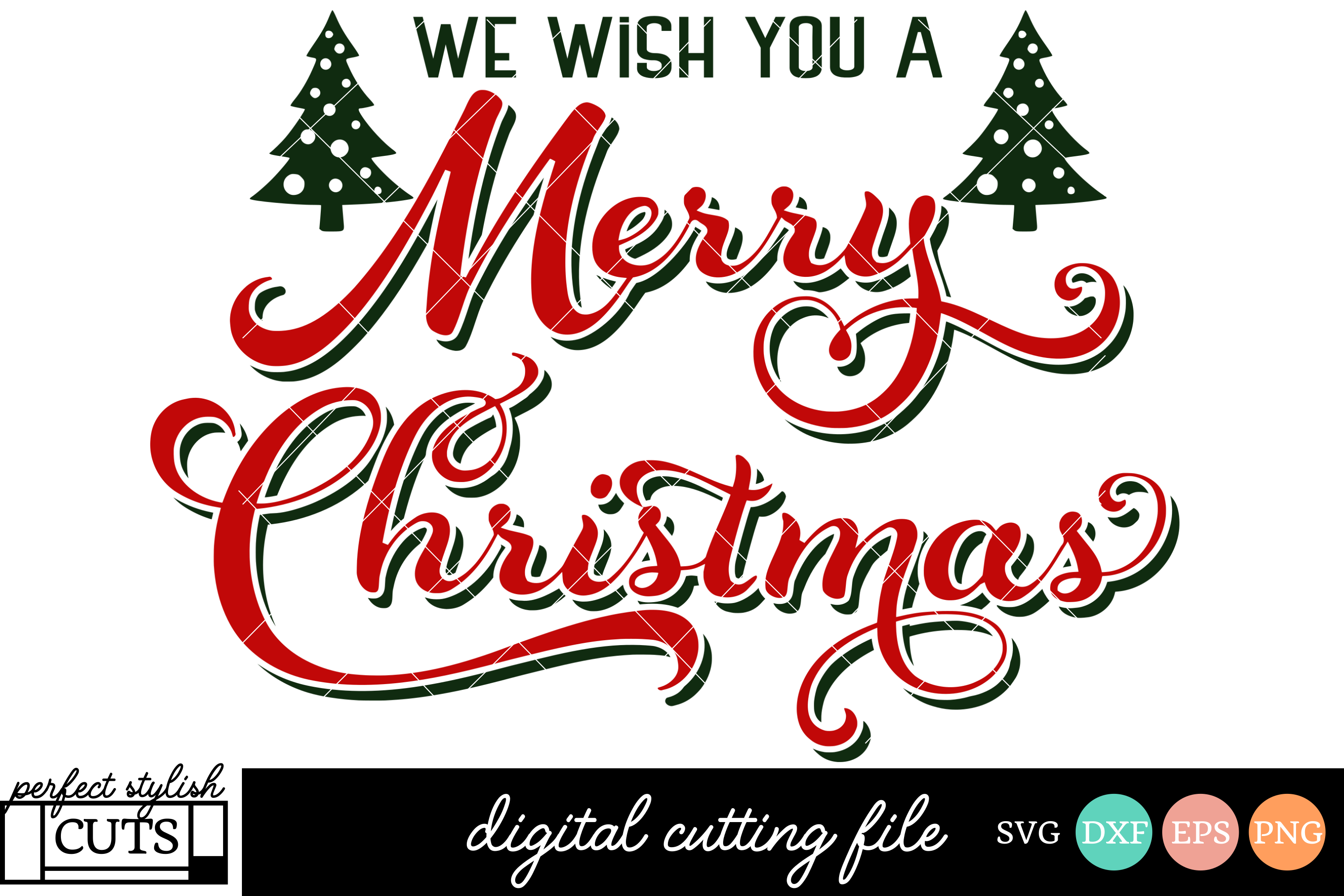 Christmas Svg We Wish You A Merry Chri 1212756 Png Images Pngio