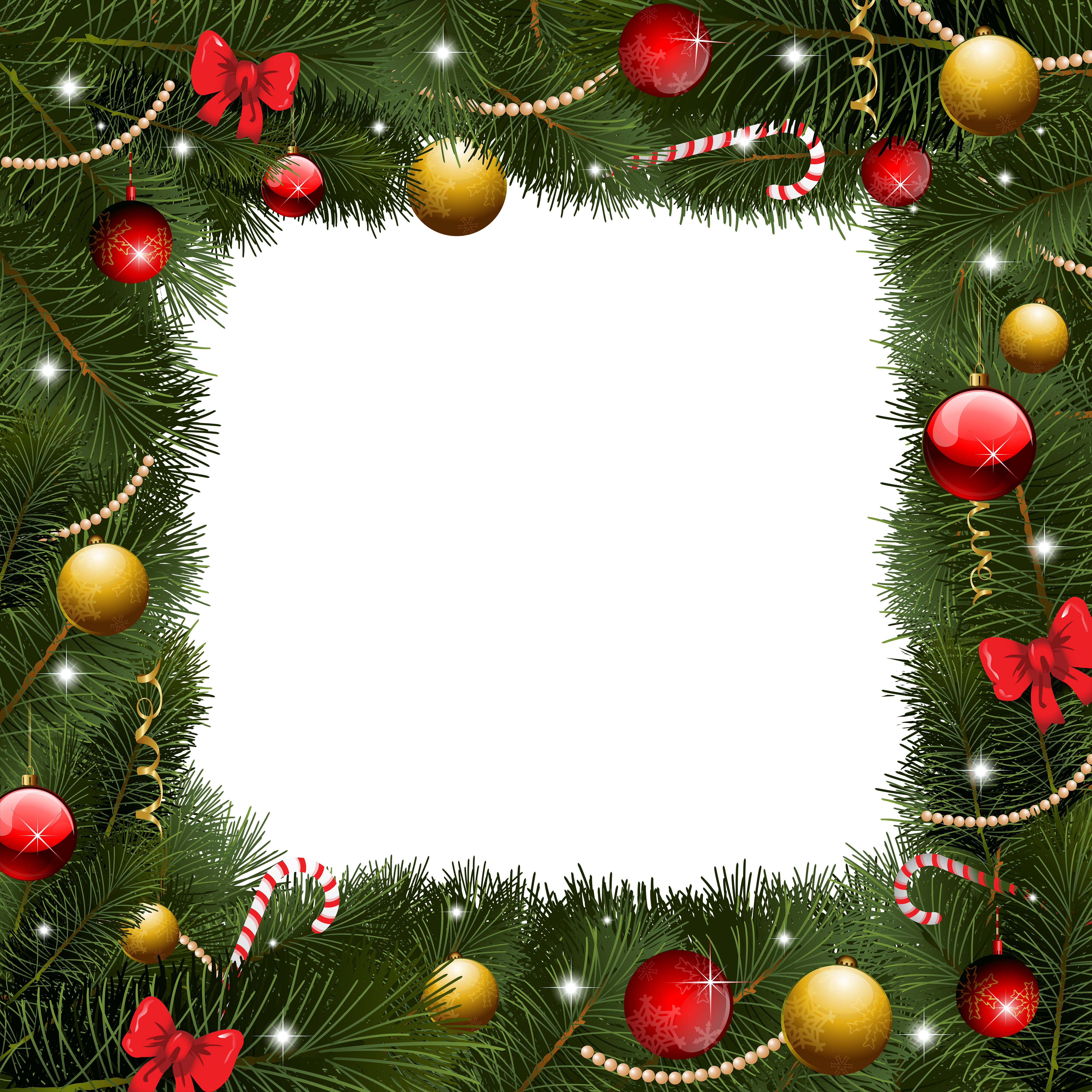 christmas borders png transparent images 3206 pngio