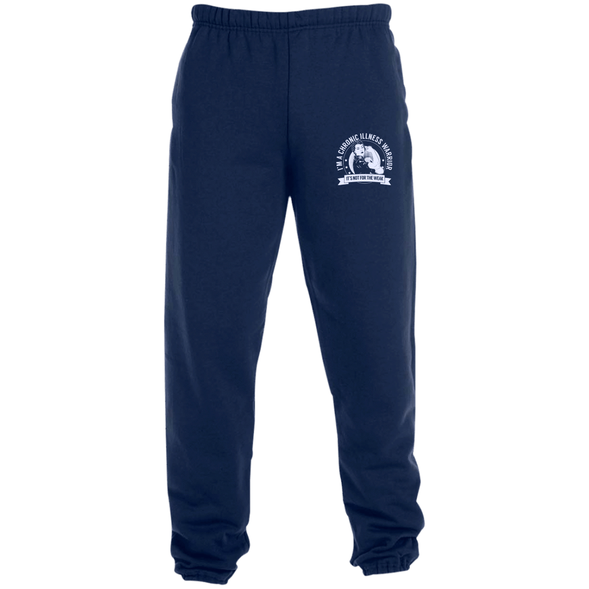 Sweatpants 3png - Chronic Illness Warrior NFTW Sweatpants with Pockets - The ...