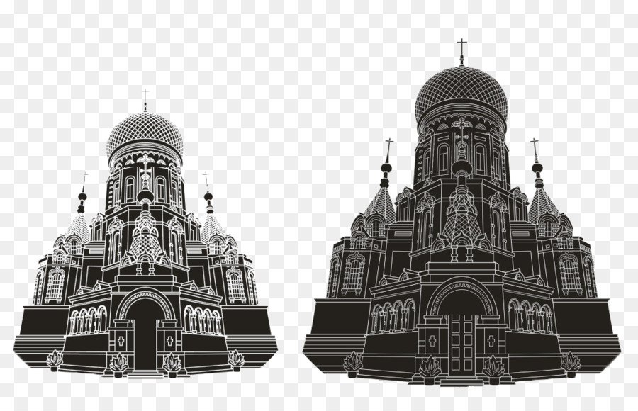 Saint Sophia Cathedral Harbin Png - Church Cartoon png download - 1020*642 - Free Transparent Saint ...