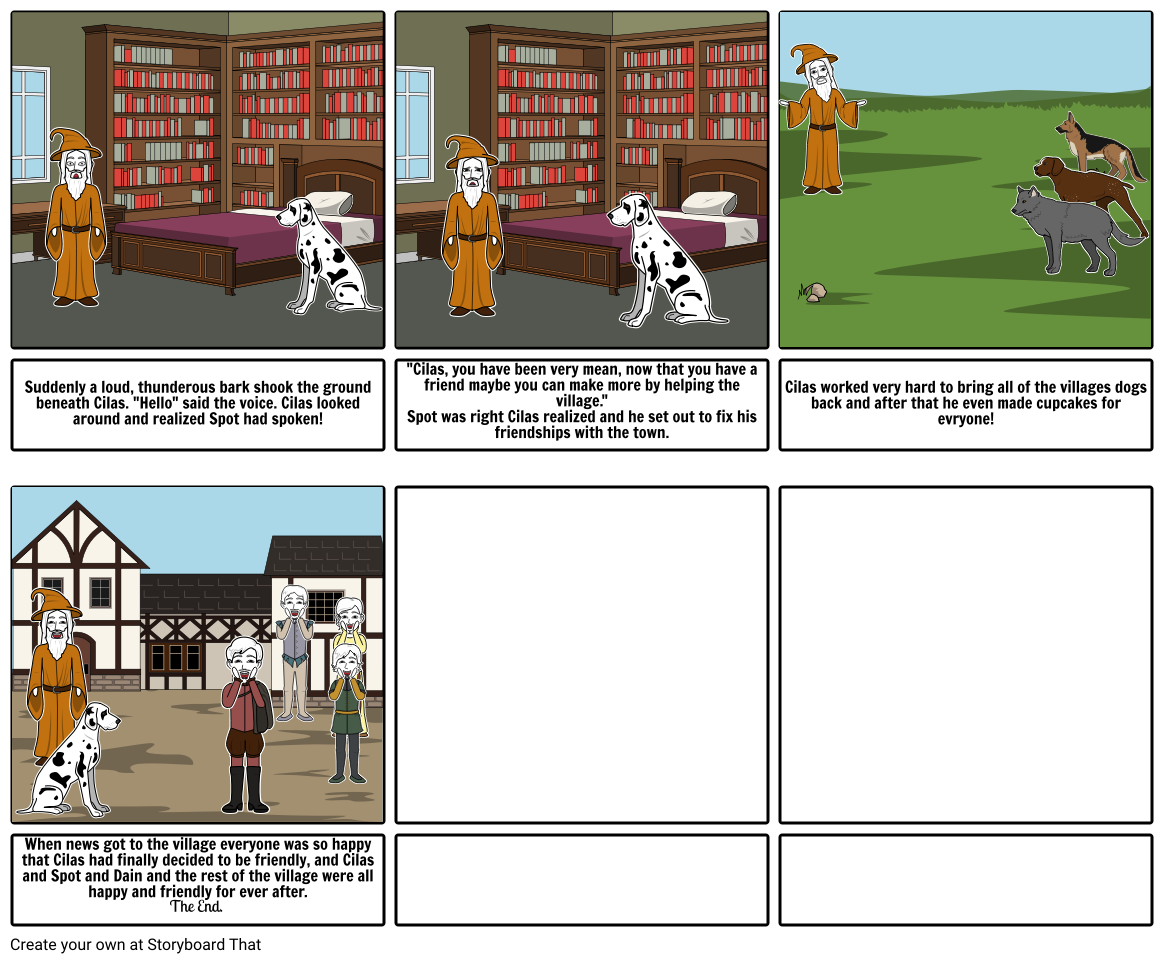 Friendly Wizard Png - Cilas the Wizard part 2 Storyboard by will_boone