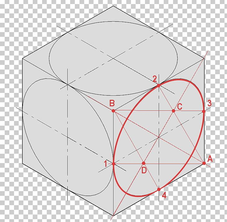 Isometric Projection Png - Circle Isometric Projection Technical Drawing Diagram Graphical ...