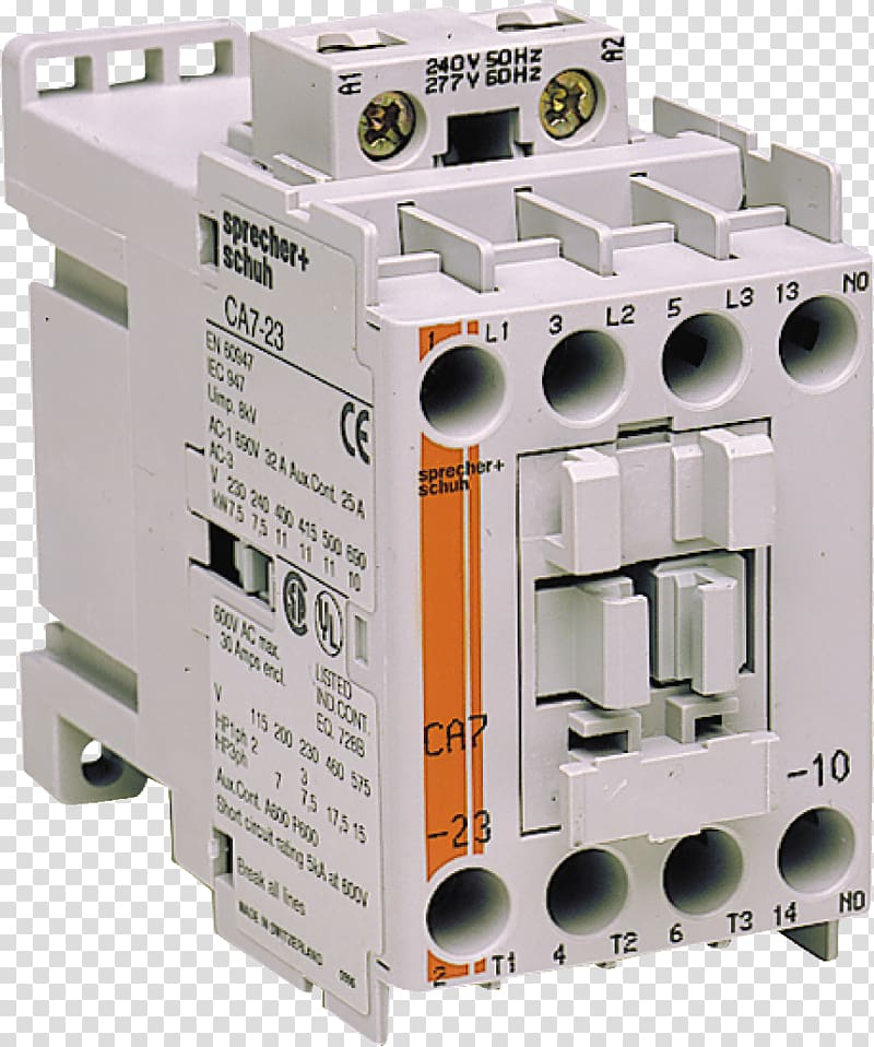 Contactor Schematic Png - Circuit breaker Contactor Wiring diagram Electrical Wires & Cable ...