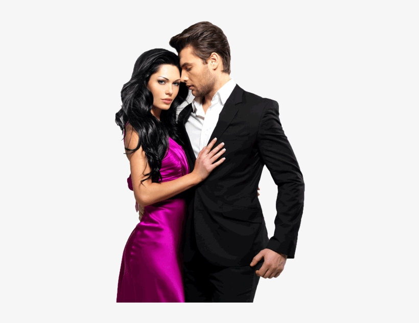 Romantic Woman Png - Classy Couple Well Dressed - Man And Girl Png - Free Transparent ...