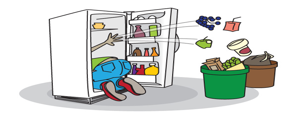 Dirty Office Refrigerator Clipart