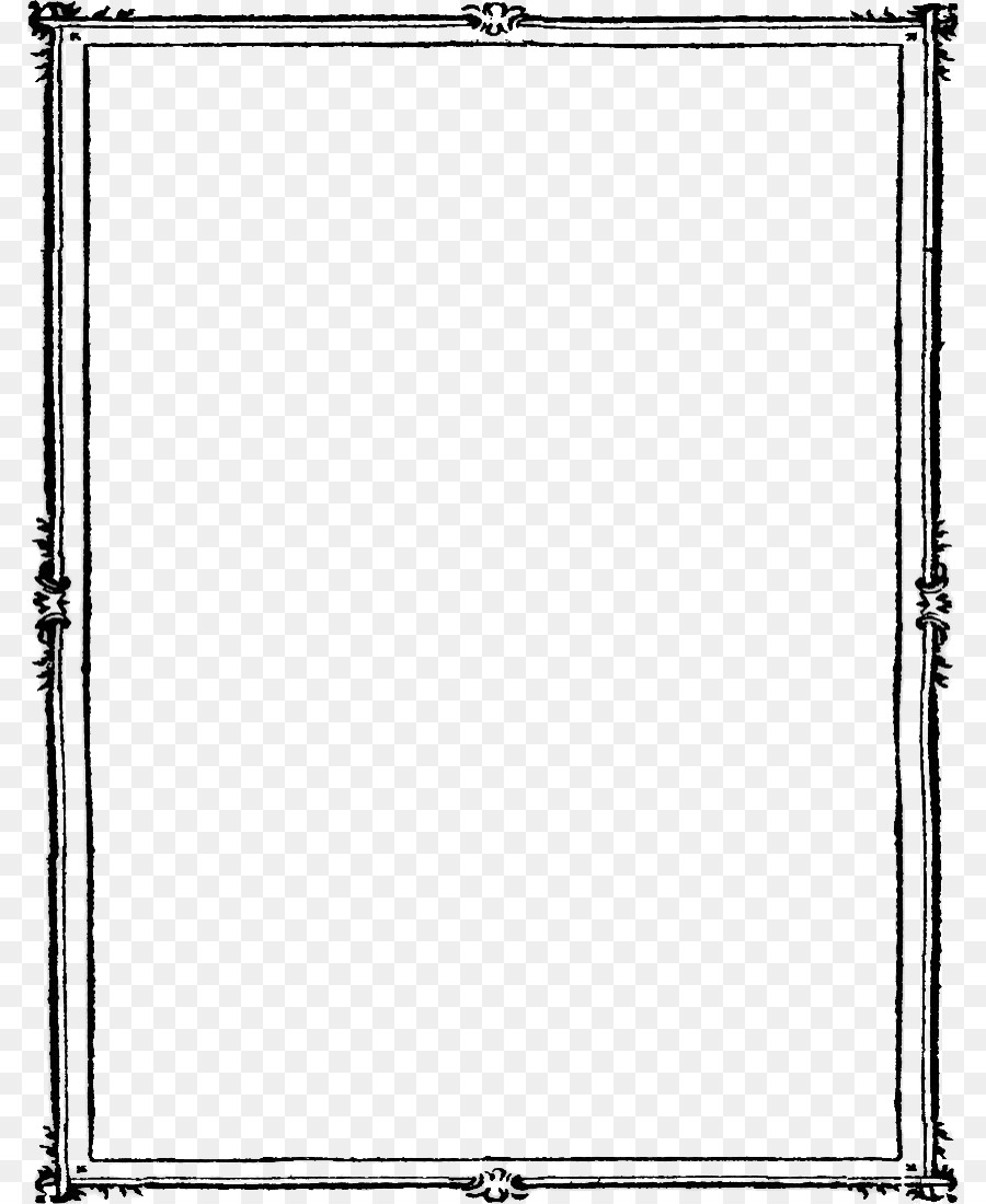 Frame Png Black And White Png & Free Frame Black And White