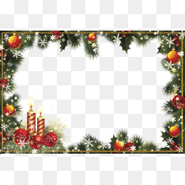 Christmas Border Clipart Png.Clipart Download Material Christmas Bor 57306 Png Images
