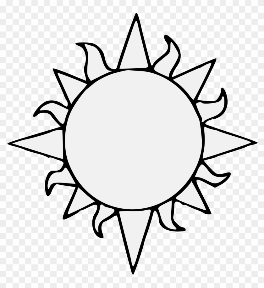 Happy Sun Png Black And White & Free Happy Sun Black And White png