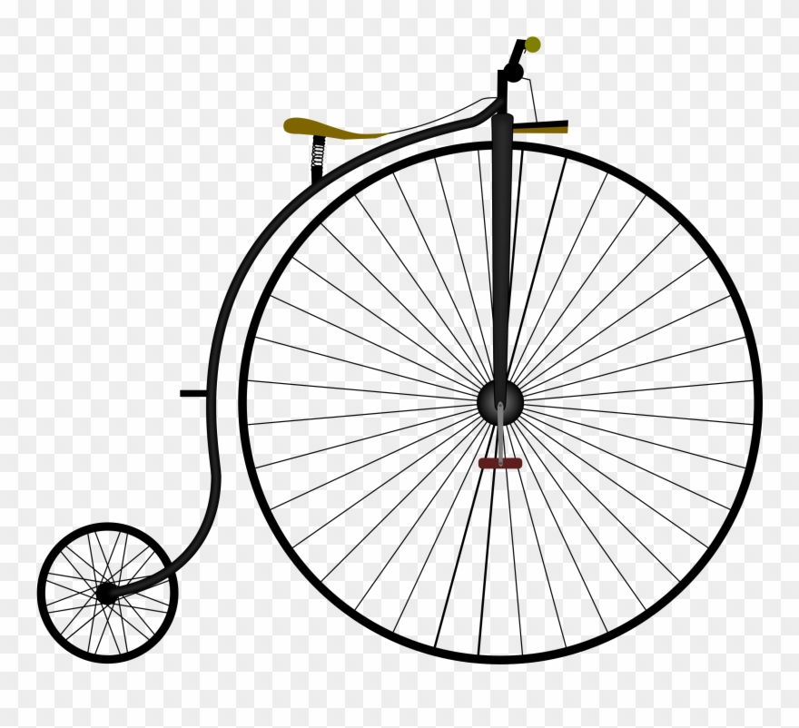 Farthing Png - Clipart Penny Farthing Bike Grand Bi - Penny-farthing Bicycle ...