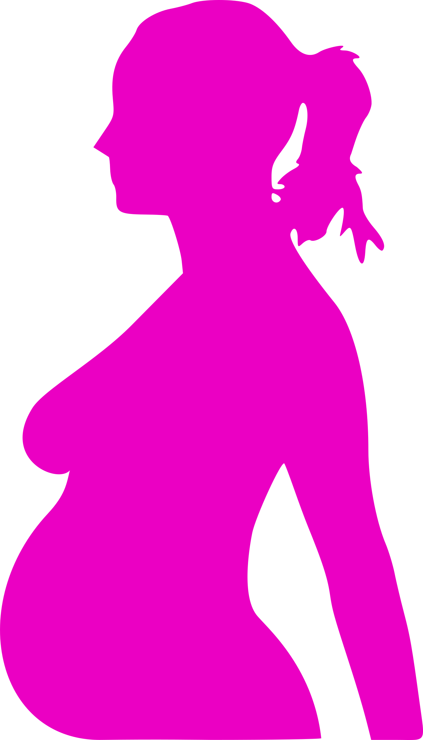 Ready To Pop Pregnant Png - Clipart - pregnancy silhouet