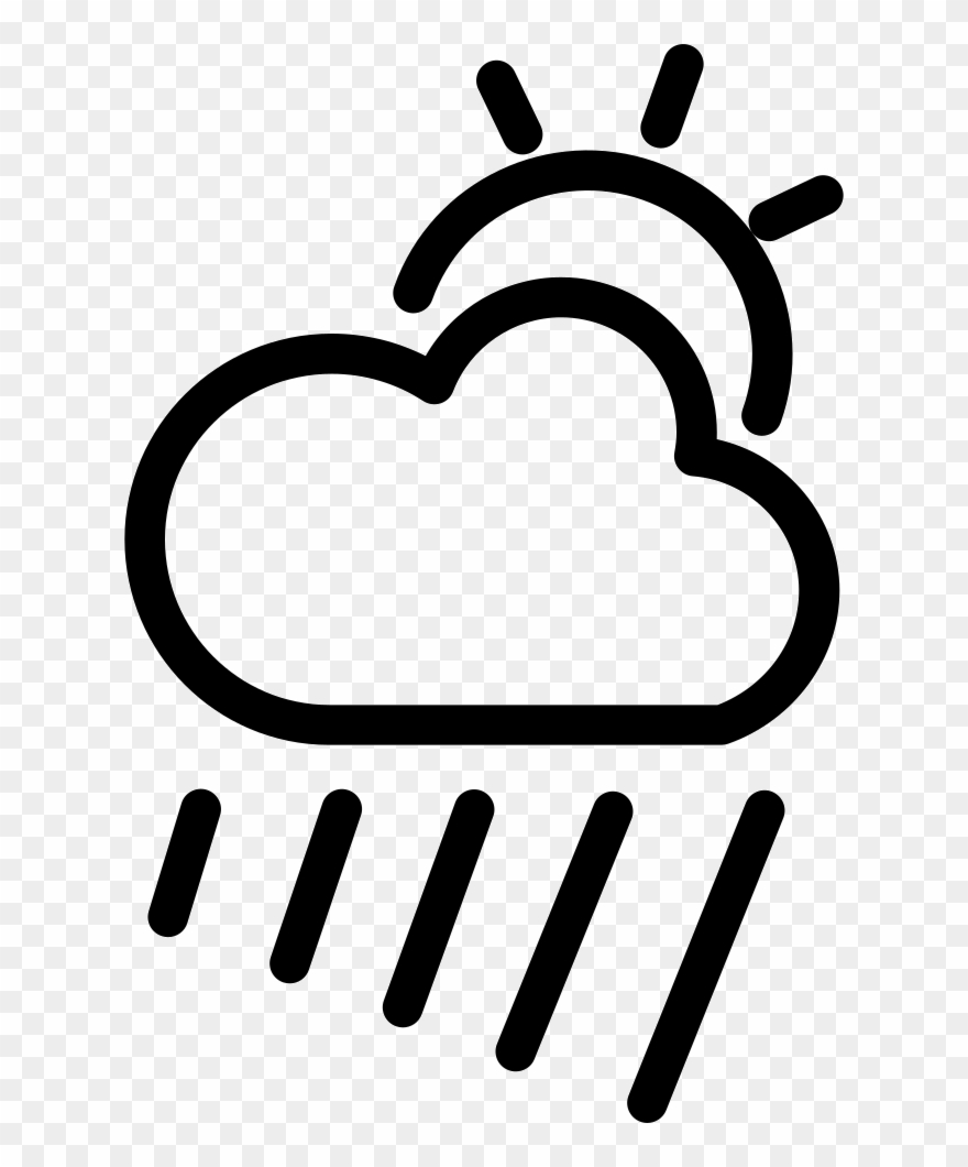 Cloudy Rainy Day Png - Cloudy Clipart Rainy Day - Icon Bewölkt - Png Download (#60725 ...
