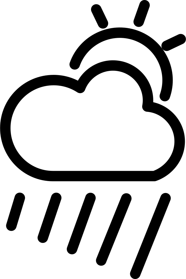 Cloudy Rainy Day Png - Cloudy Rainy Day Weather Symbol Svg Png Icon Free Download (#6868 ...