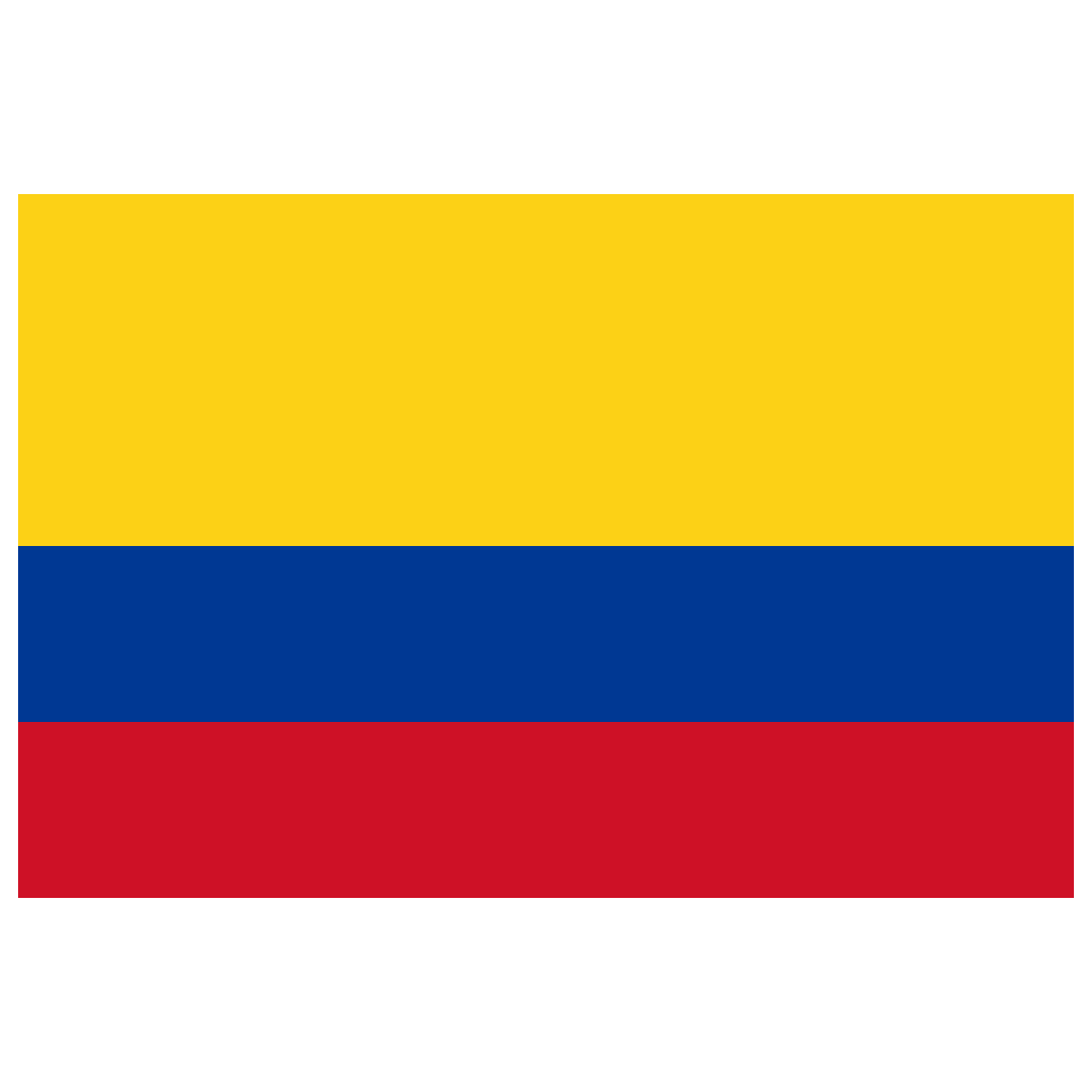 Flag Of Colombia Png - CO Colombia Flag Icon | Public Domain World Flags Iconset ...