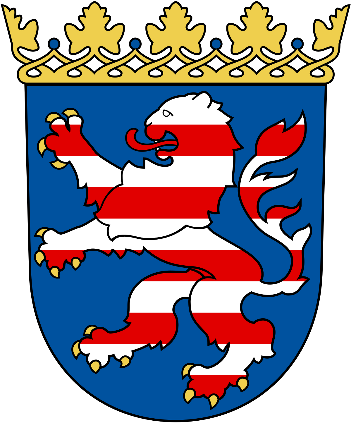 Coat Of Arms Of Hesse Png - Coat of arms of Hesse - Wikipedia