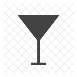 Cocktail Glass Icon Of Glyph Style Ava 1879868 Png Images Pngio