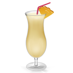 Pina Colada Cocktail Png - Cocktail Pina Colada Icon | Drinks Iconset | miniartx