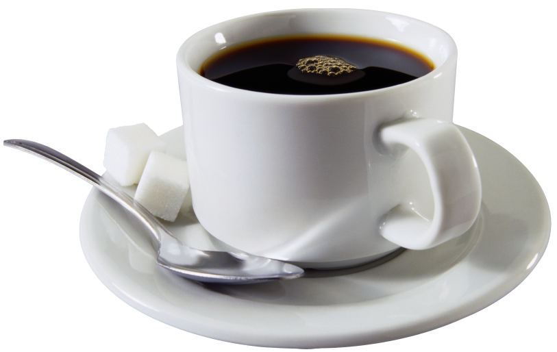 Png Of Cup Of Coffee - Coffee Cup with Sugar Cubes | Gallery Yopriceville - High-Quality ...