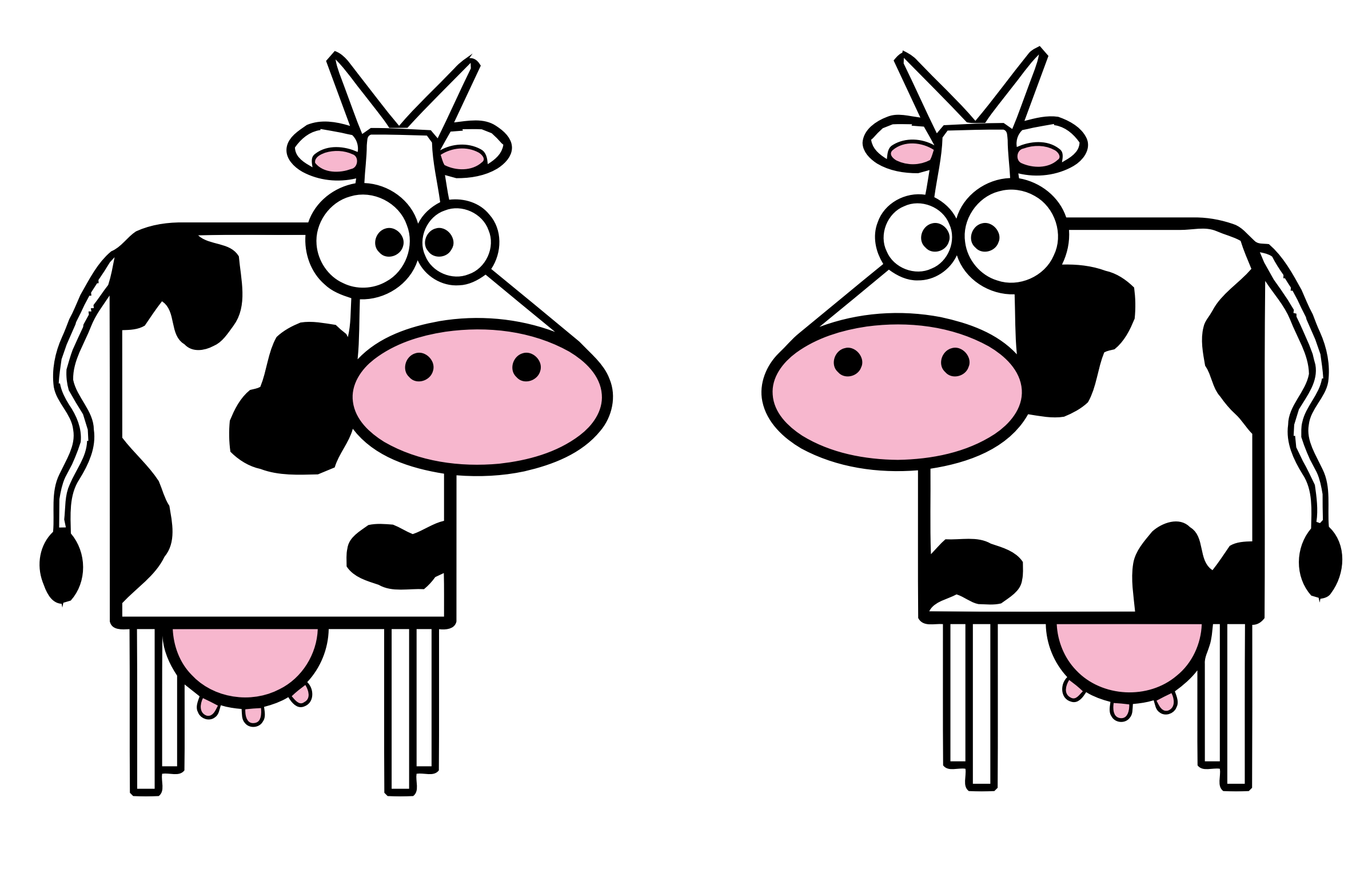 Number 2 And Cow Png - Collection of free Facing clipart cow. Download on UI Ex