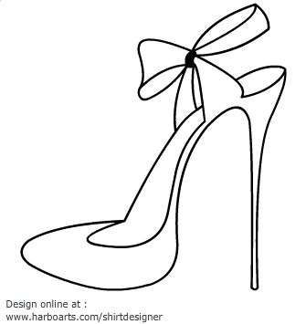 Black Ribbon Heels Png - Collection of Heel clipart | Free download best Heel clipart on ...