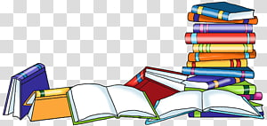 Collection Stacked Books Transparent Ba 1123840 Png Images Pngio