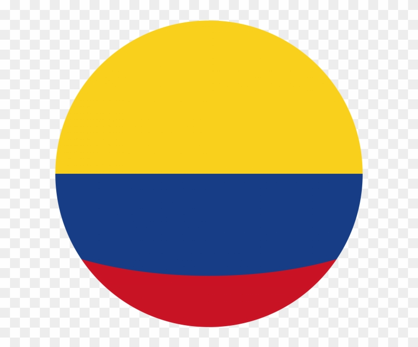 Flag Of Colombia Png - Colombia Round Flag - Colombia Flag Icon Png Clipart (#1442712 ...