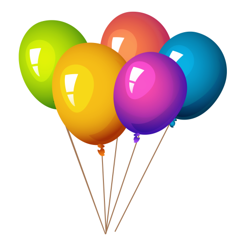 Balloons Png - Colorful Balloons PNG image