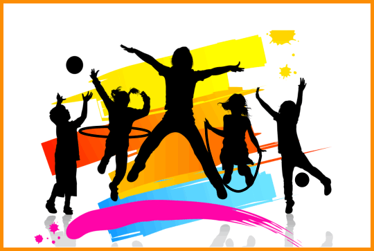 Colorful Graphic Depicting Kids Involved 92308 Png Images Pngio