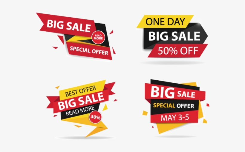 Colorful Banner Template Png - Colorful Shopping Sale Banner - Banner Template Offers Png - Free ...