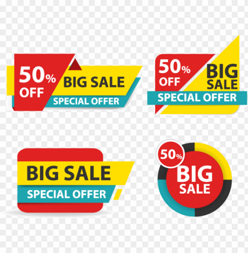 Colorful Banner Template Png - colorful shopping sale banner, business, card, template - sale ...
