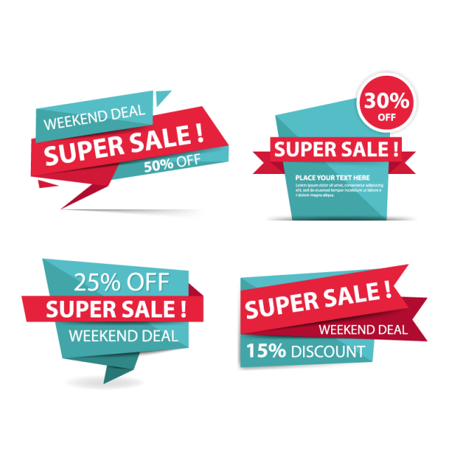 Colorful Banner Template Png - Colorful Shopping Sale Banner, Sale, Banner, Offer PNG and Vector ...