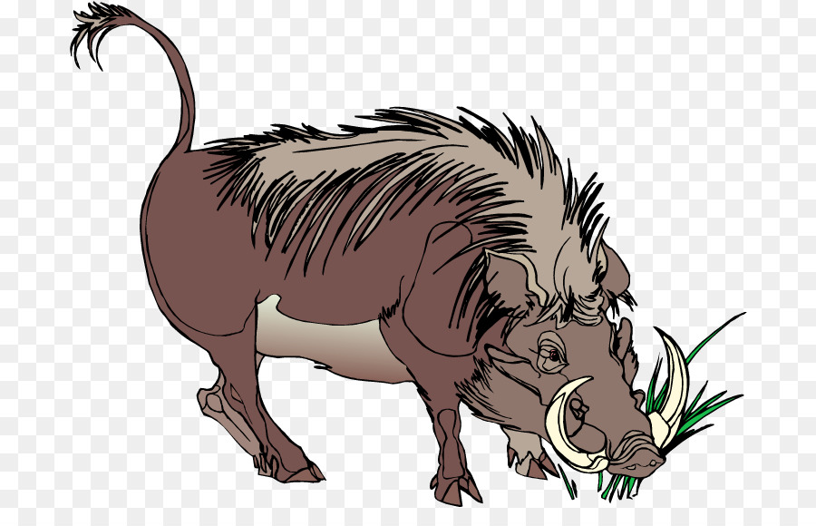 Common Warthog Png - Common Warthog Wildlife png download - 750*561 - Free Transparent ...