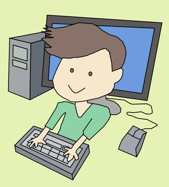 Computer Boy Png - computer boy - /computer/people_on_computers/computer_users ...