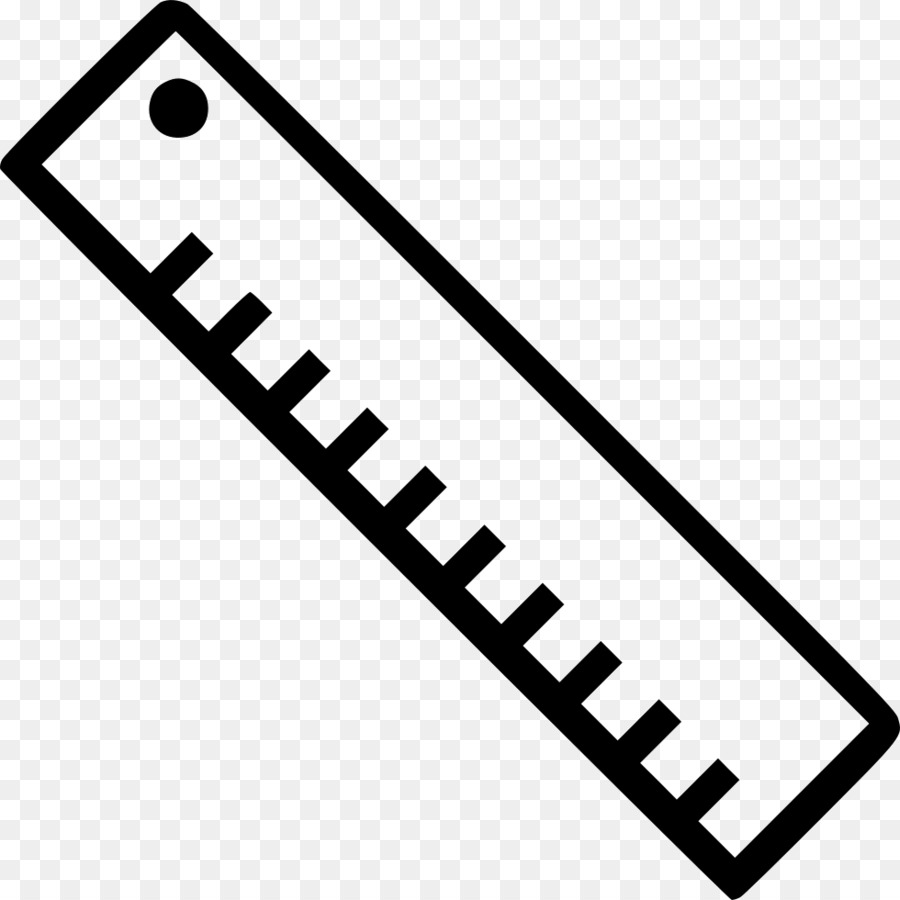 Ruler Black And White Png - Computer Icons Drawing Ruler Icon Design #78360 - PNG Images - PNGio