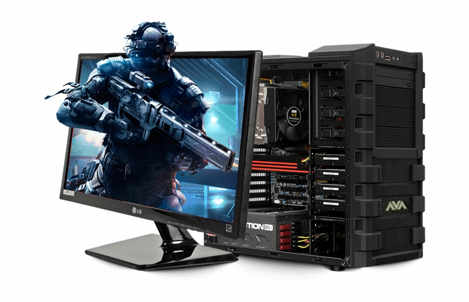Pc Gaming Png - Computers Drawing Gaming Computer - Desktop Gaming Computers ...