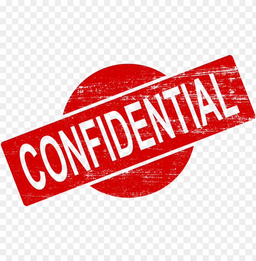 Confidential Png - confidential stamp png - Free PNG Images | TOPpng