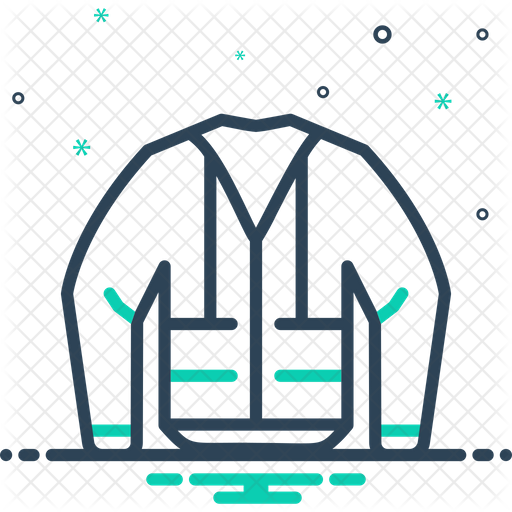 Jacket Illustration Construction Png - Construction-Jacket Icon of Line style - Available in SVG, PNG ...